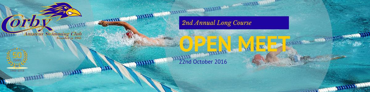 2016 Long Course Open Meet Banner