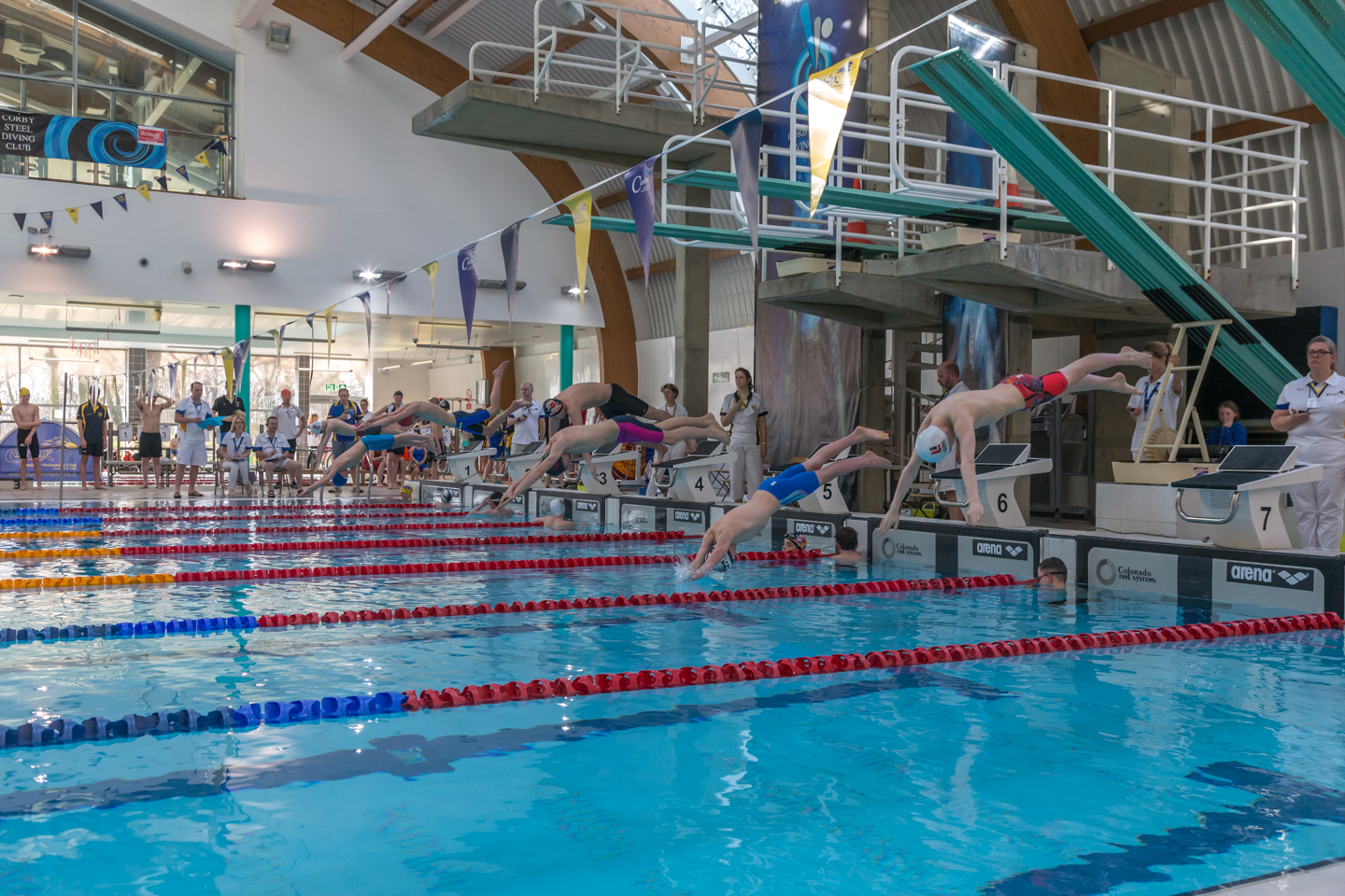 Gallery corby amateur swimming club for Corby international swimming pool