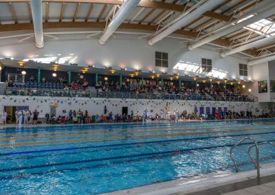 Pool filling up with competitors