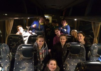 Leicester Autumn League - bus trip