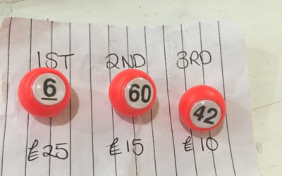 Winning numbers April – CASC 100 Lottery