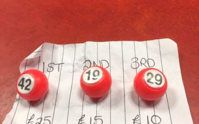Winning numbers May – CASC 100 Lottery