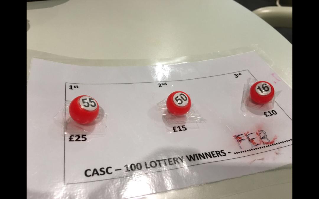 February Lottery