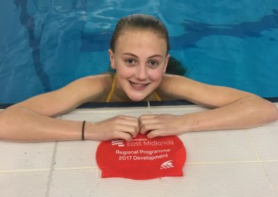 Regional Swim Camp England Talent Camp age 12 yrs - phase 1 invited swimmer from CASC -Libby Evans