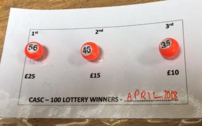 April Lottery