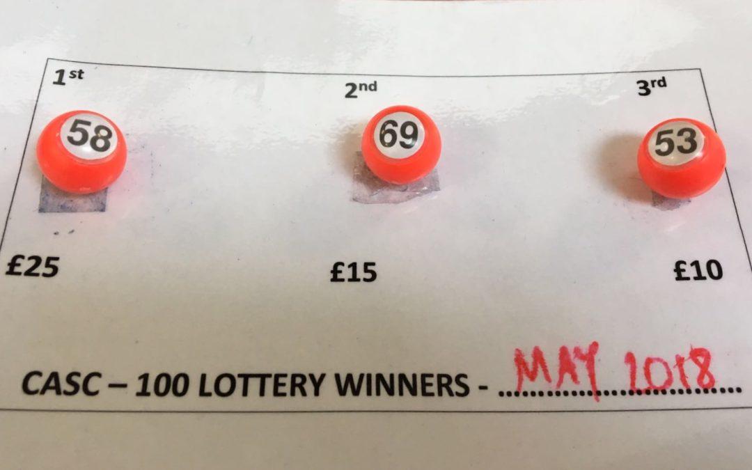 May Lottery
