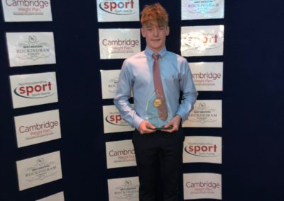 David Gillespie - Young Sportsperson Award