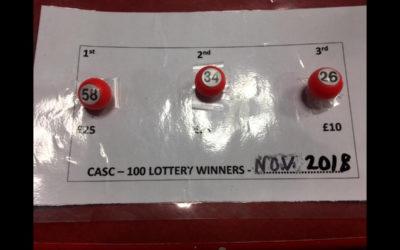 November Lottery