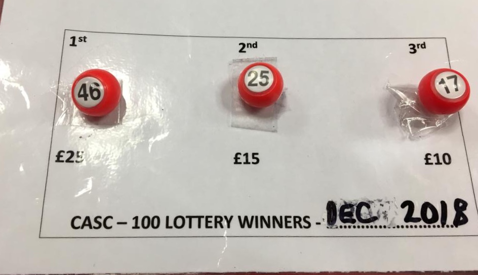 December Lottery