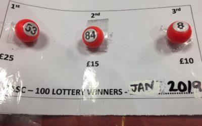 January Lottery