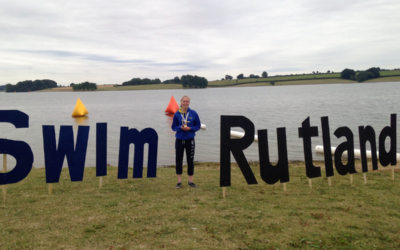 Amy at the British Open Water Champs