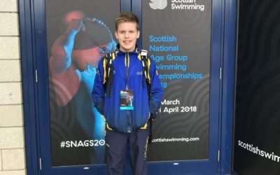 Robert at Scottish Nationals