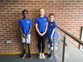 CASC young swimmers selected for the Northamptonshire County ASA Development Programme 2019 - Theodore Garwe, Fenella Woodisse and Martha Bamford