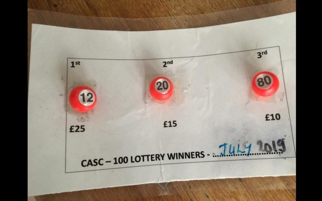 July Lottery
